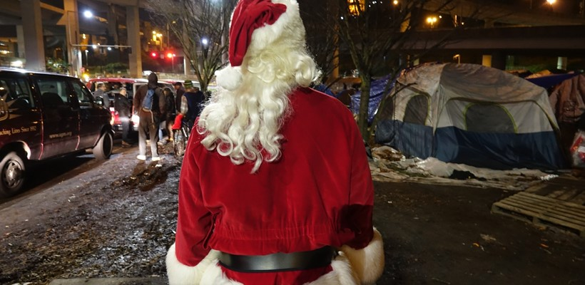 Christmas wishes from Seattle's homeless